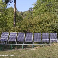 Installation solaire photovoltaïque au Mas de Bonnefont avec groupe élctrogène pour l'association SOS Loire Vivante