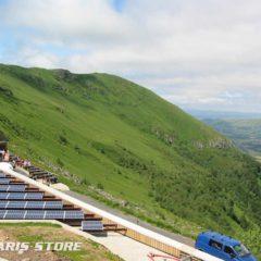 Installation de générateur solaire indépendant du réseau électrique de forte puissance