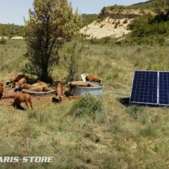 d'installations de pompage solaire