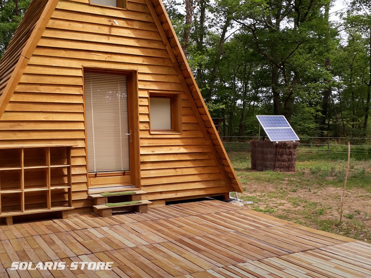 Kit solaire pour tinyhouse et chambre d'hôte écologique
