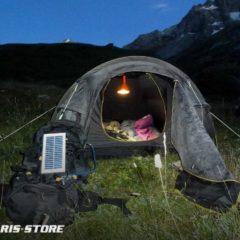 Lampe solaire pour éclairage tente et camping