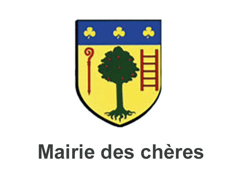 Logo mairie des Chères