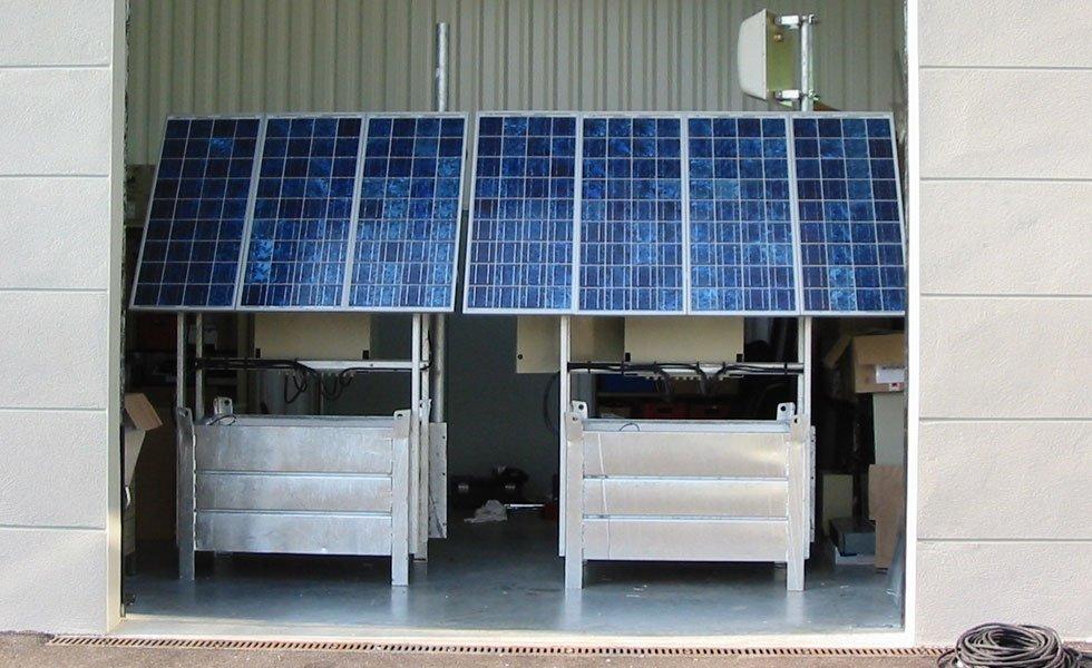 <p>Prototype de générateur solaire pour Relais Telecom MOTOROLA.</p>