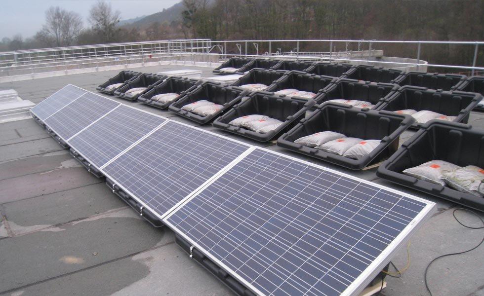 Installation solaire en autoconsommation à la Tour du Pin (38, Isère)