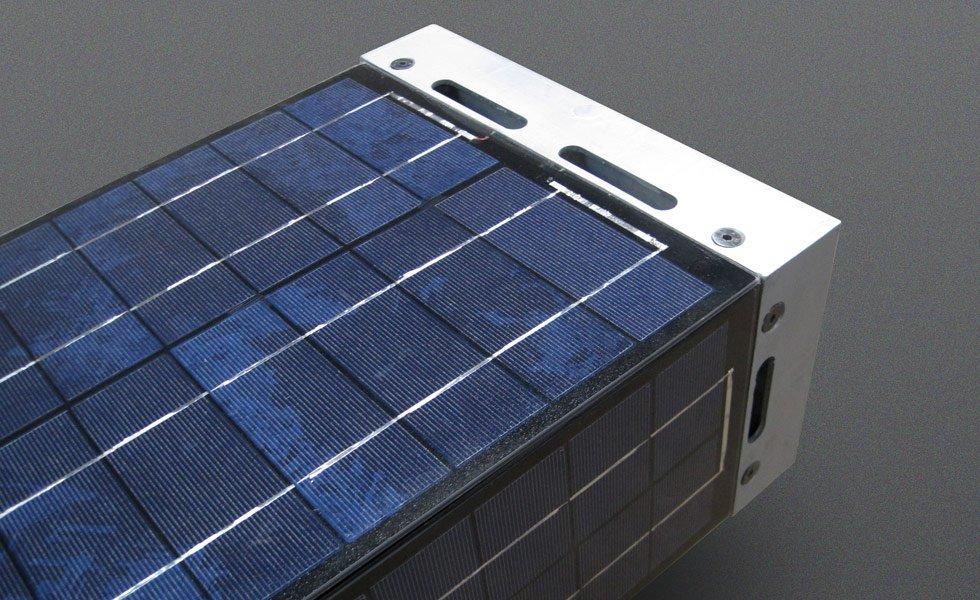 Le Totem solaire autonome capte l'énergie à 360°