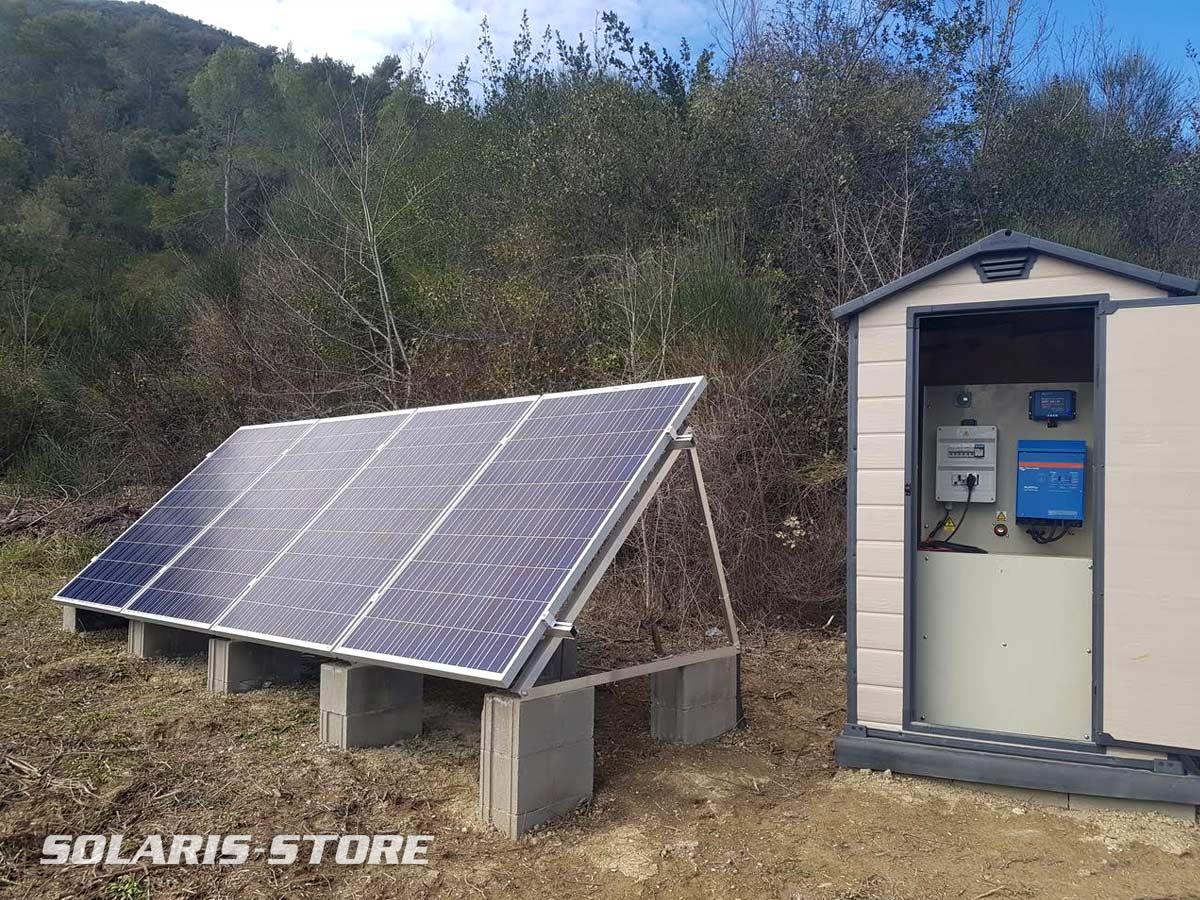 Groupe électrogène solaire prêt à l'emploi PowerPack 1000W