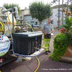 Pompe solaire silencieuse camion arrosage mairie