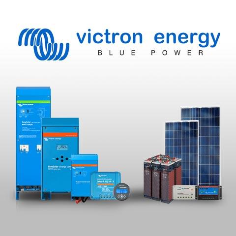 Promotion sur la gamme victron solaire