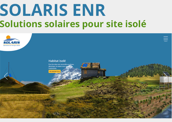 Produire votre électricité solaires sans être raccordé au réseau ERDF