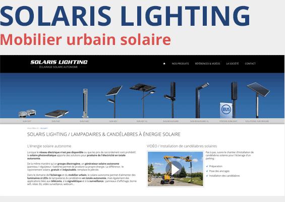 Eclairage solaire à Lyon, Mâcon, Saint-étienne