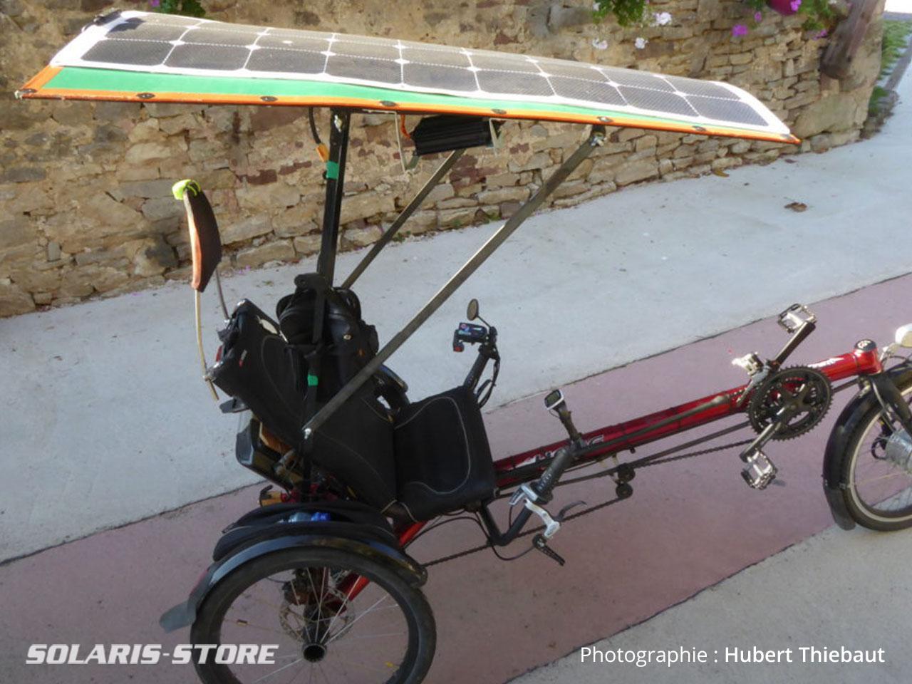 Kit solaire pour vélo à assistance électrique