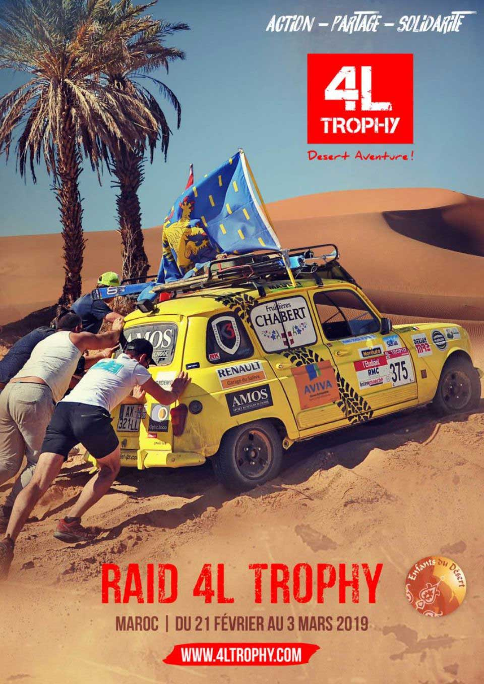 La course 4L Trophy édition 2019
