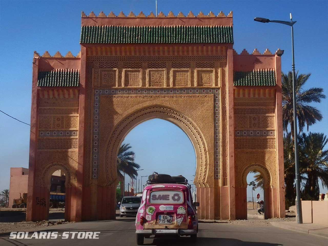 Arrivée à Marrakech, fin de la course